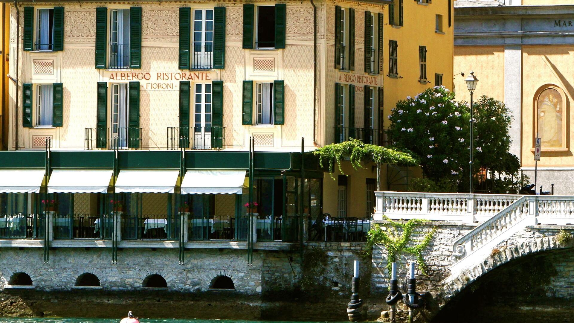 Albergo Ristorante Fioroni | Eleganza sul Lago di Como